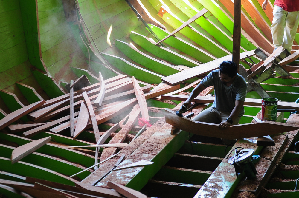 The Boat Builders of Pulau Duyong