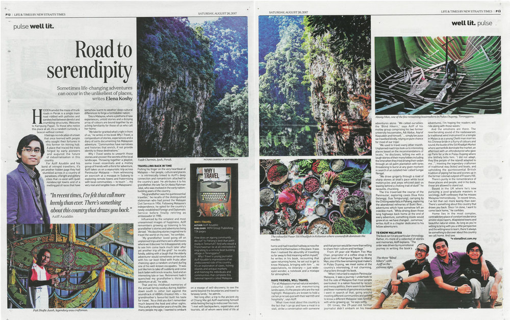 Published in  The New Straits Times , 26 August 2017. You can read the online version  here .