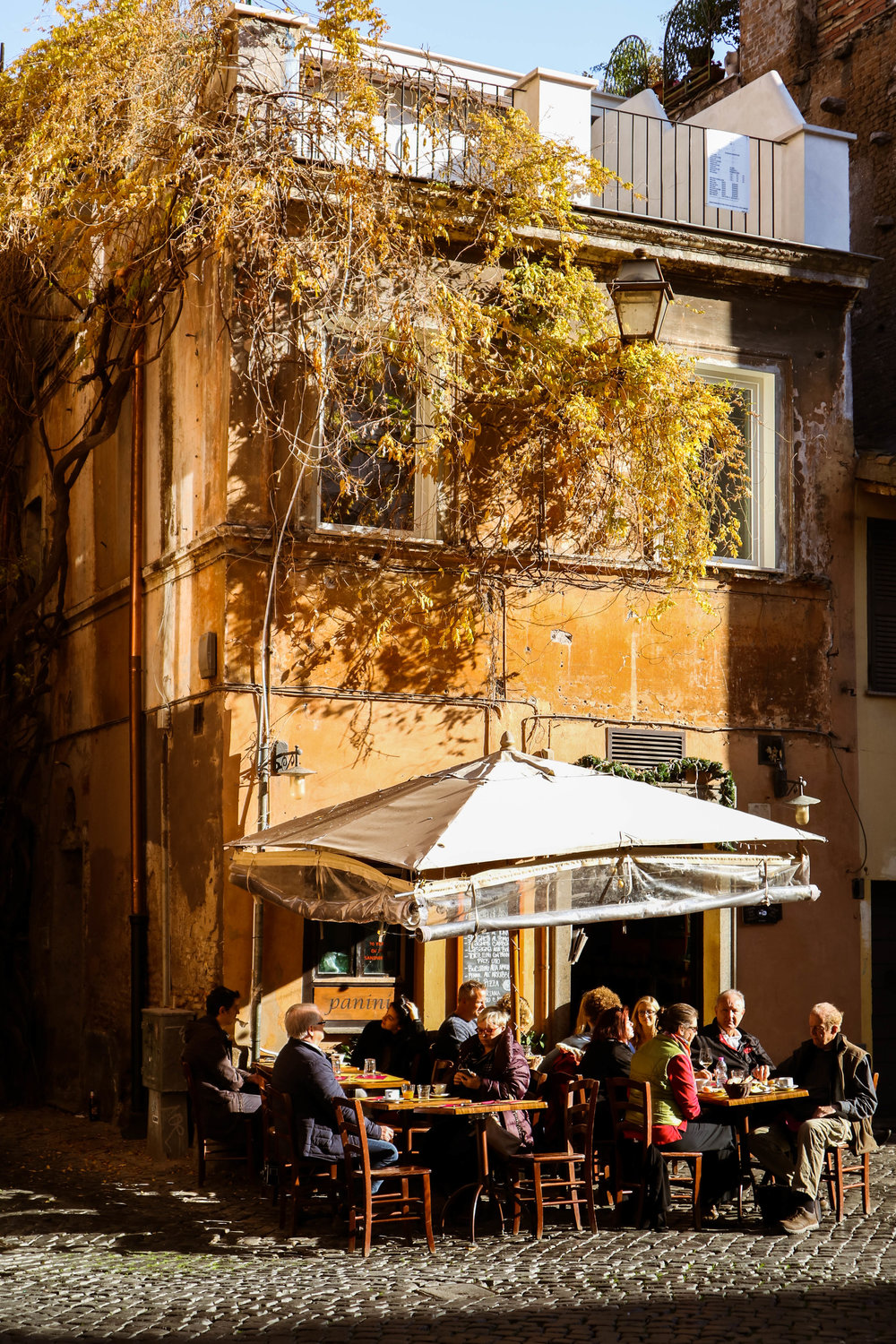 An afternoon in Trastevere