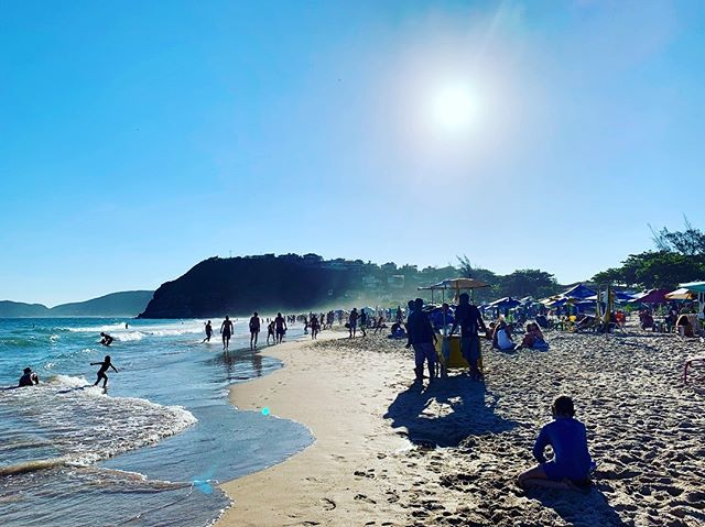 Geriba beach Saturday in Buzios, Brazil. Gonna need to start looking for somewhere that has the Chiefs game soon.