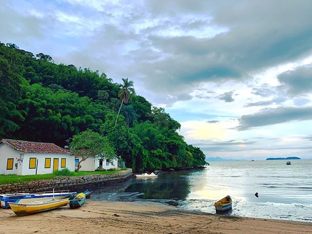 New place in Paraty for the weekend on the way south, last couple days in Brazil.