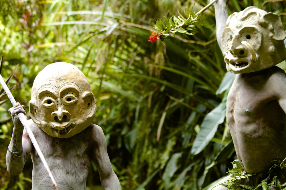 Mud Men | Mount Hagen | Papua New Guinea