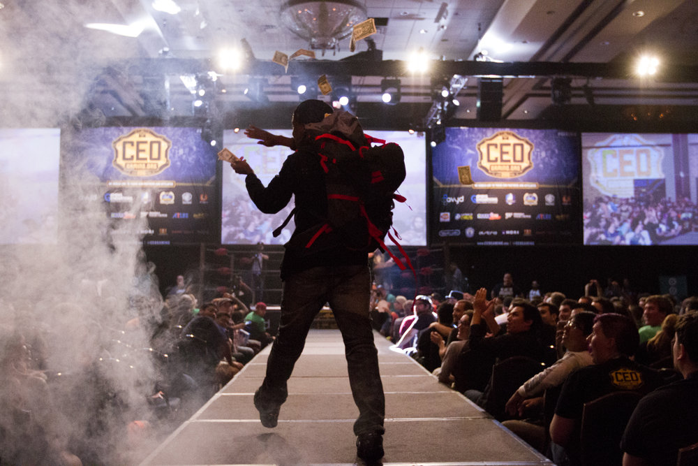 #5 - Anti's Entrance to CEO 2016 - Canon 7D - Shutter Speed: 1/1000th Aperture: f/2.8 - Lens: Canon 16-35mm f/2.8
