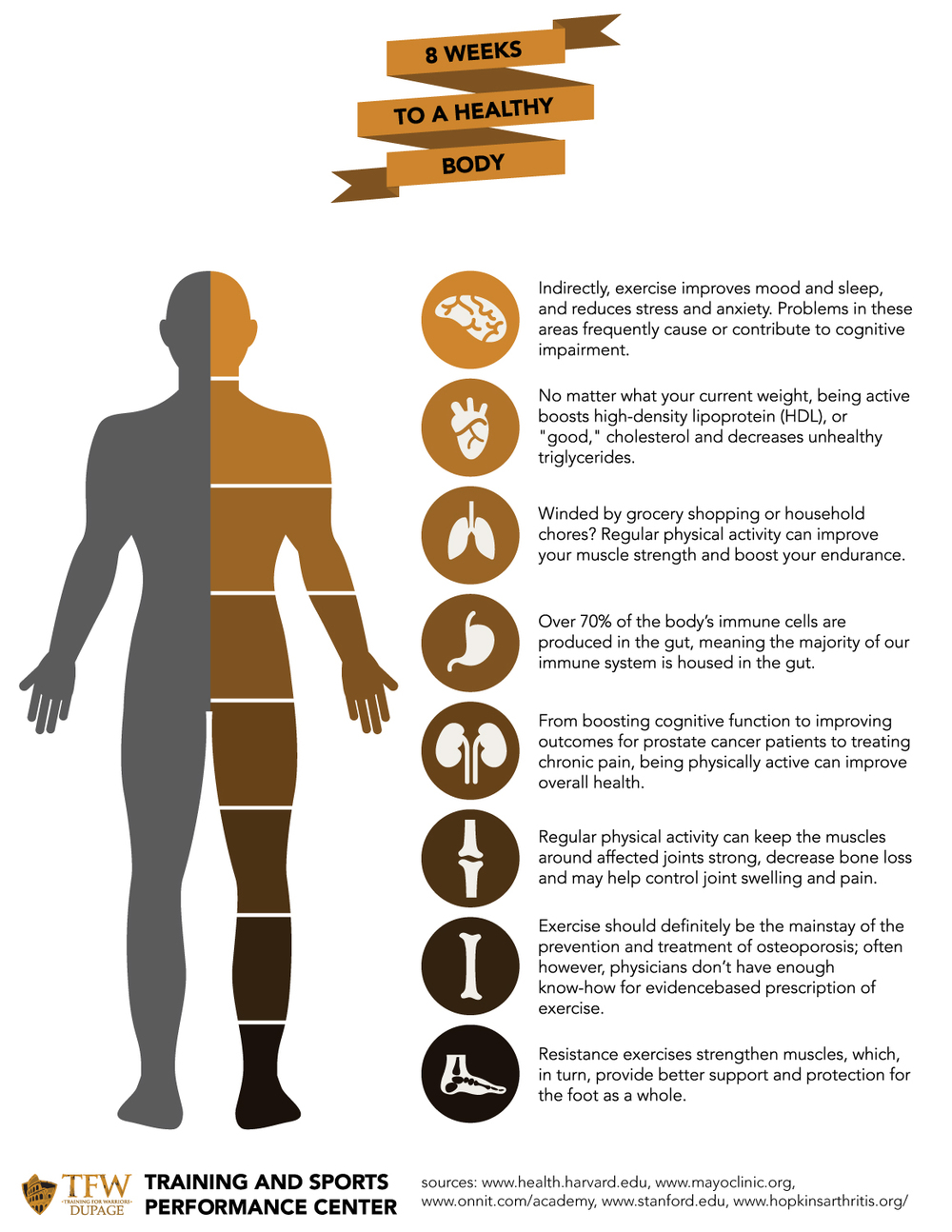 TFW DuPage Body Health Infographic