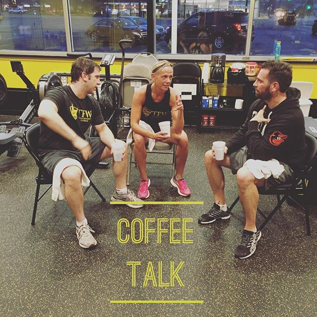 We are missing our Coffee Talk crew, many people gone on spring break. Let's hope they don't lose their GAINZ while away. #whereisDarrin #whereisKelly