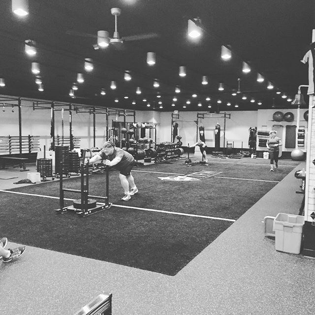 @functionaleffect  we are seeing the spring break blues here as well. Usually 15-20 deep we are only 4 strong today. I will tell you those 4 are killing it today, they are keeping the gym on fire. #nooffdays #springbreakwhat #tfwStrong #fitness #training #trainmorefearless