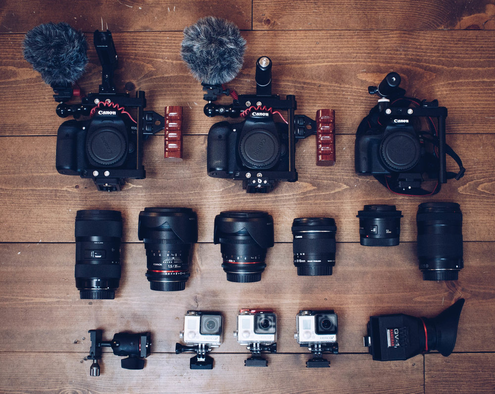 Some Cameras and Lenses
