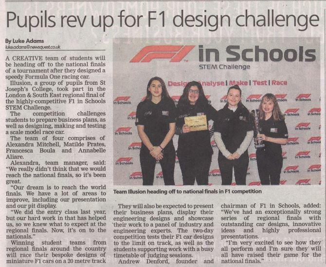 Voke press article F1 in schools.JPG