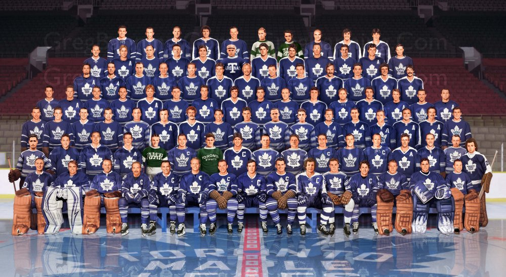 Toronto Maple Leaf Centennial Poster Large Format