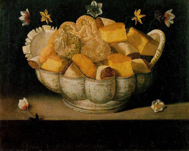 Josefa de Óbidos, Naturaleza muerta con tortas