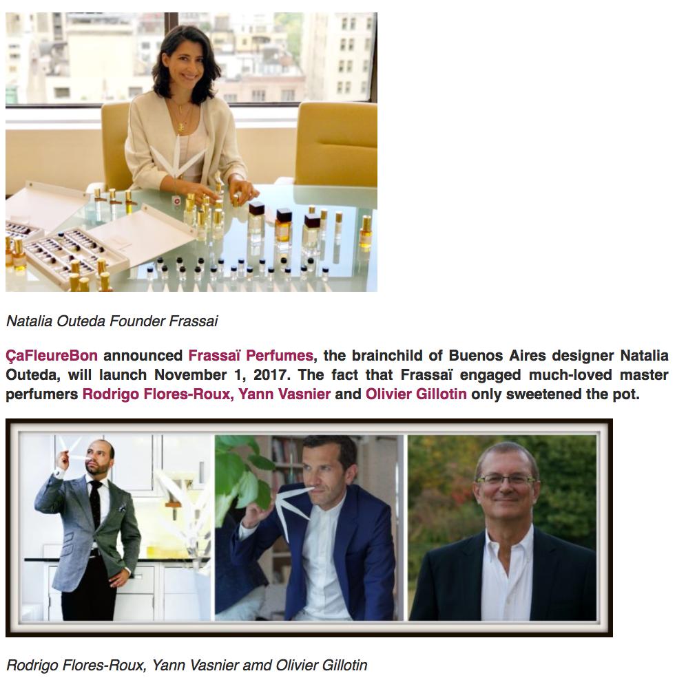 Natalia & Perfumers via CaFleureBon Fragrance Blog