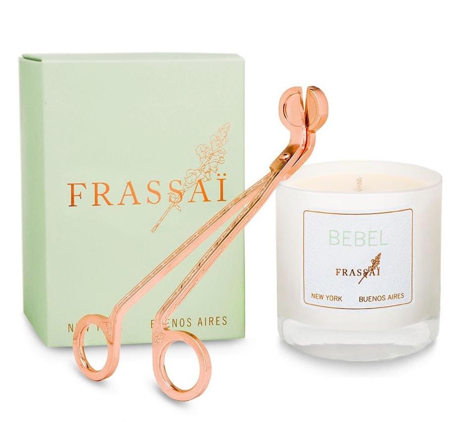 OBJETOS DE DESEO - Objetos esenciales para acompañar tu vela y optimizar el quemado de las mismas.Un regalo chic. Exclusivo de FRASSAÏ.
