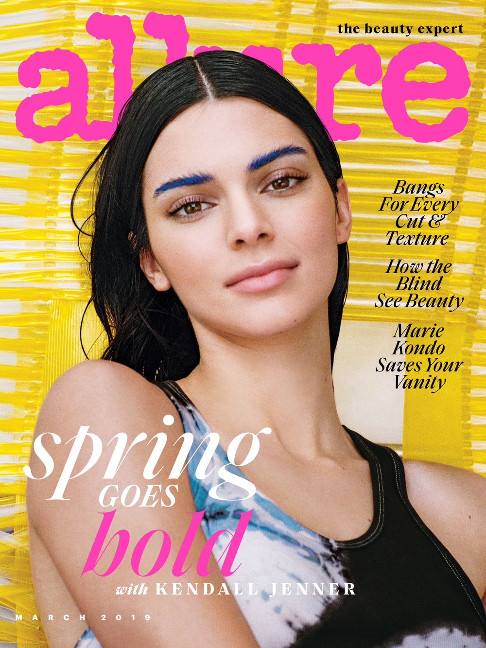 ALLURE magazine march 2019 cover
