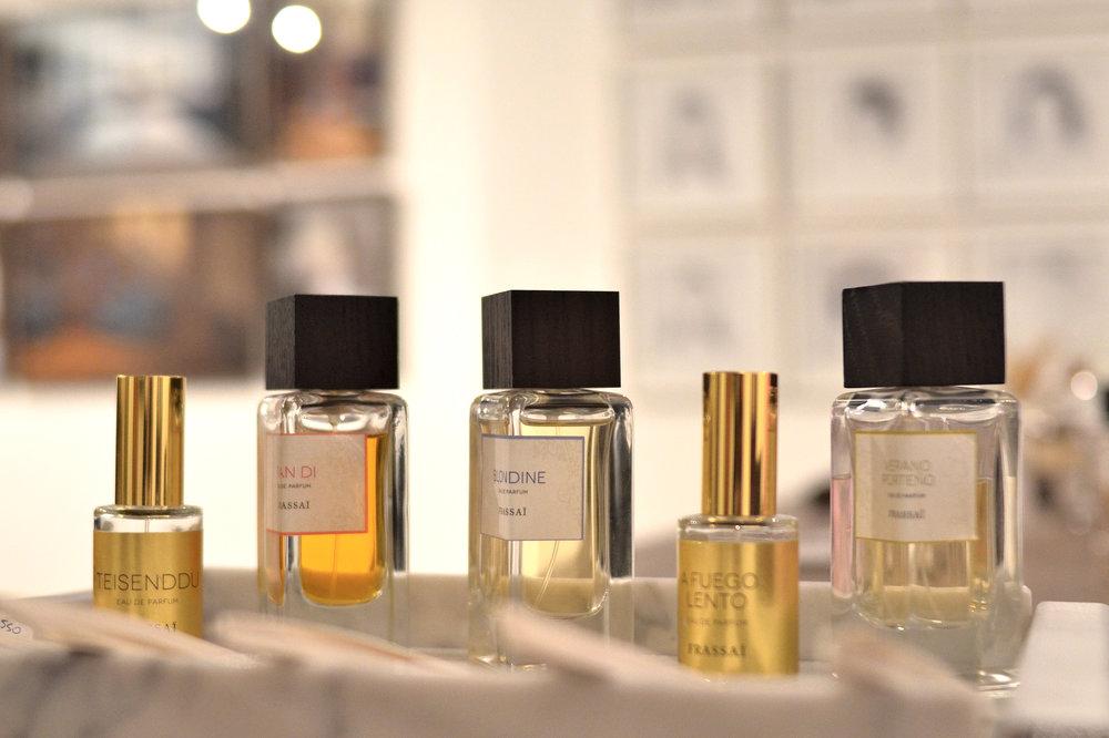 Perfumes Frassaï. Foto: Gonzalo Kramer