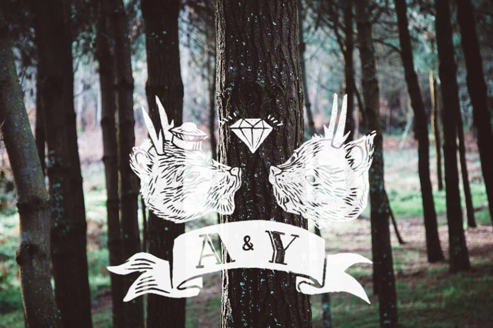 A&Y videography logo by Iria do Castelo
