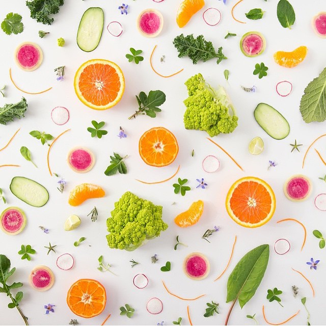 Reposting this incredible @julieskitchen collage #orangeinspiration Taking her amazing @skillshare class right now can wait to get started.