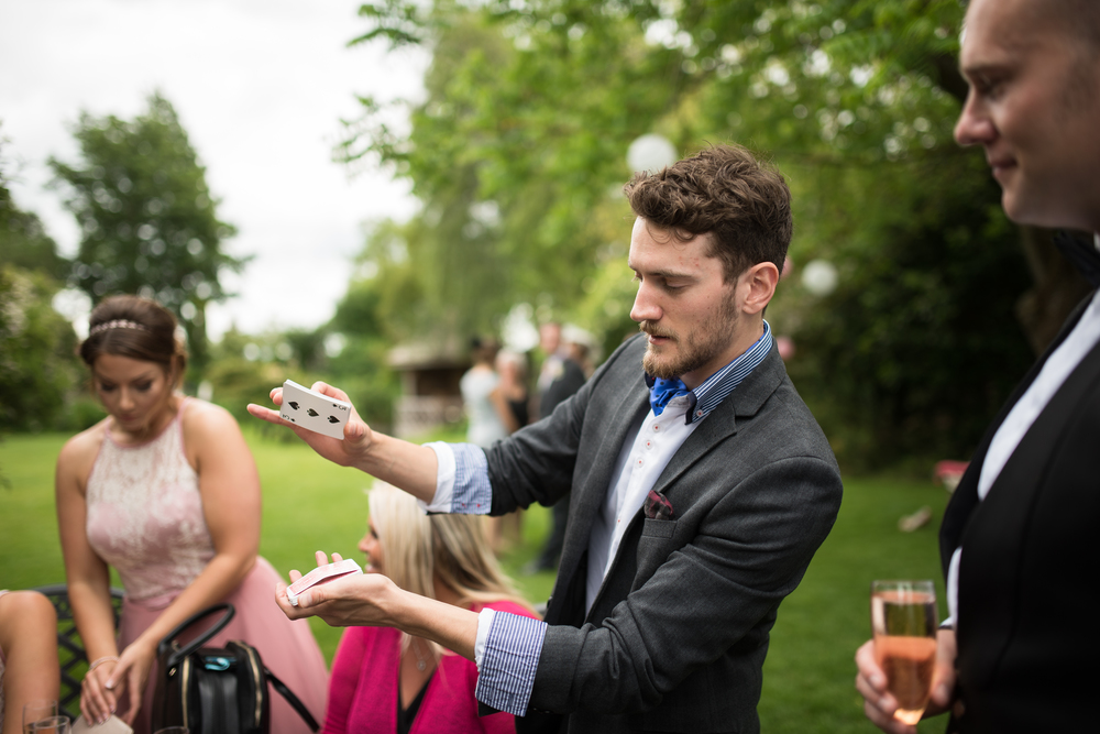 Wedding Magician in Cambridge