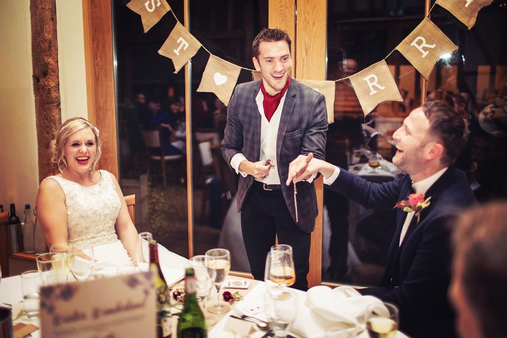 """Within seconds he had everyone mesmerised…A genuinely charming guy with amazing talent. We are so glad we found him!"" - Mr and Mrs Woodham"