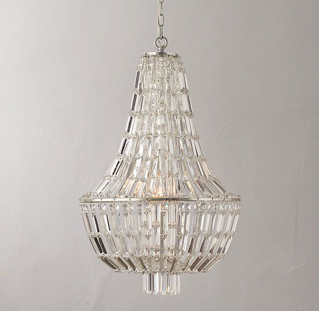 Restoration hardware launches rh teen and its amazing chloe elia crystal chandelier 799 mozeypictures Image collections