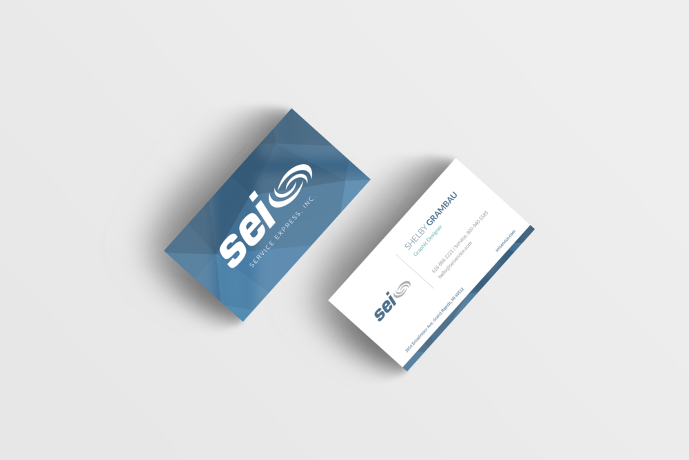 Service Express Business Card — SG DESIGN