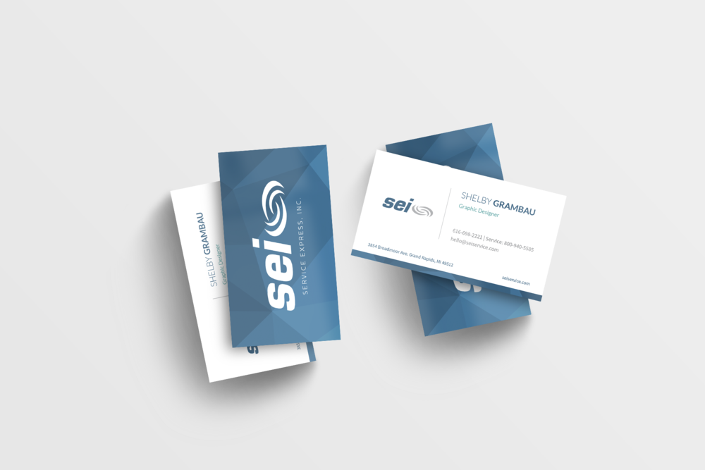 Service express business card sg design business cards 2 stacksg reheart Gallery
