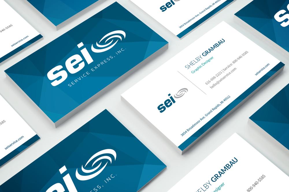 Service Express Business Card Sg Design