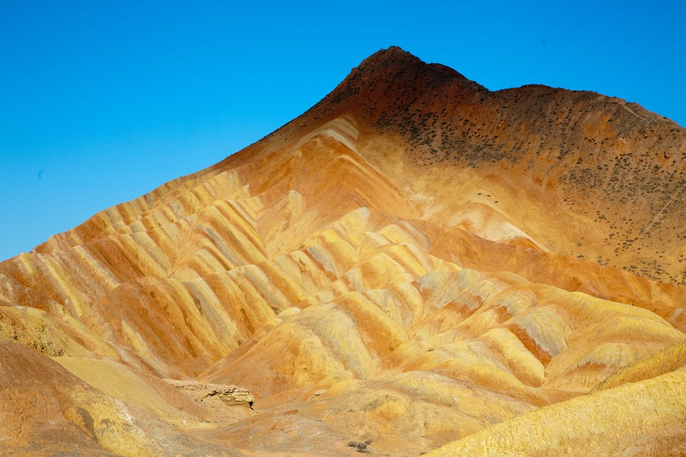 Colored mountains - Zhangye