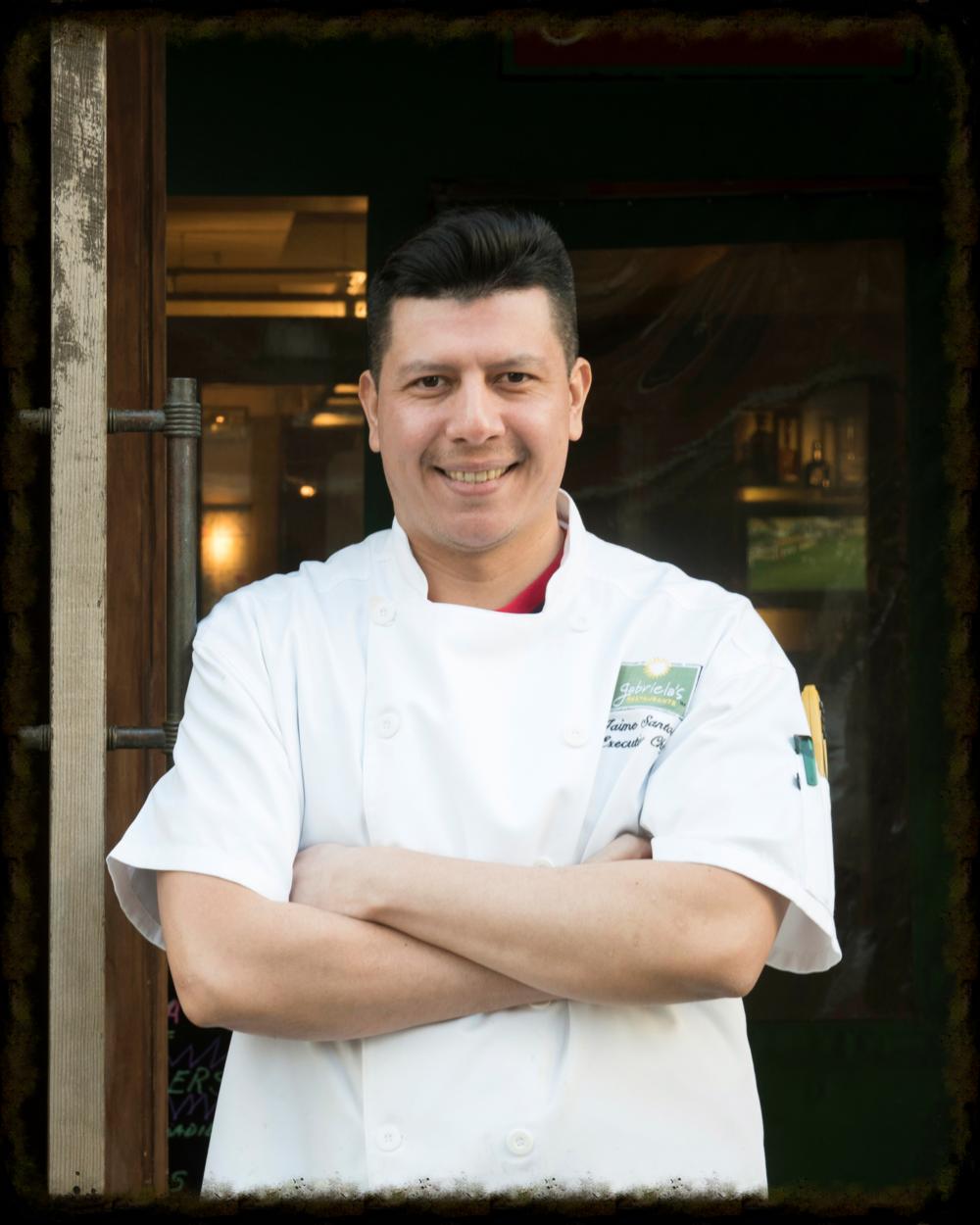 Chef Jamie Santos