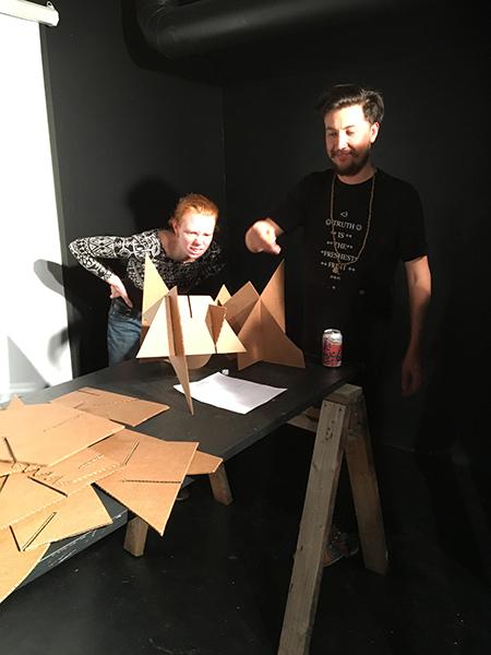 The Perishable Husk  Three-day sculpture workshop Conceptual Oregon Performance School/Rocksbox Portland, OR