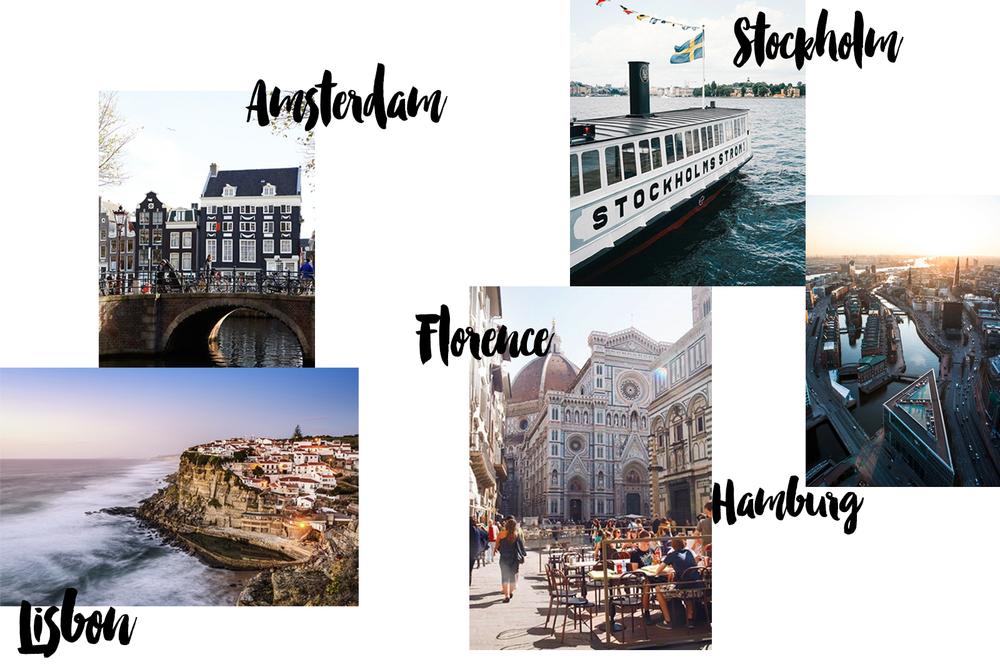 travel list 2016