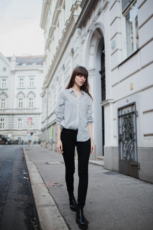 streifenbluse kombinieren fashionblog graz