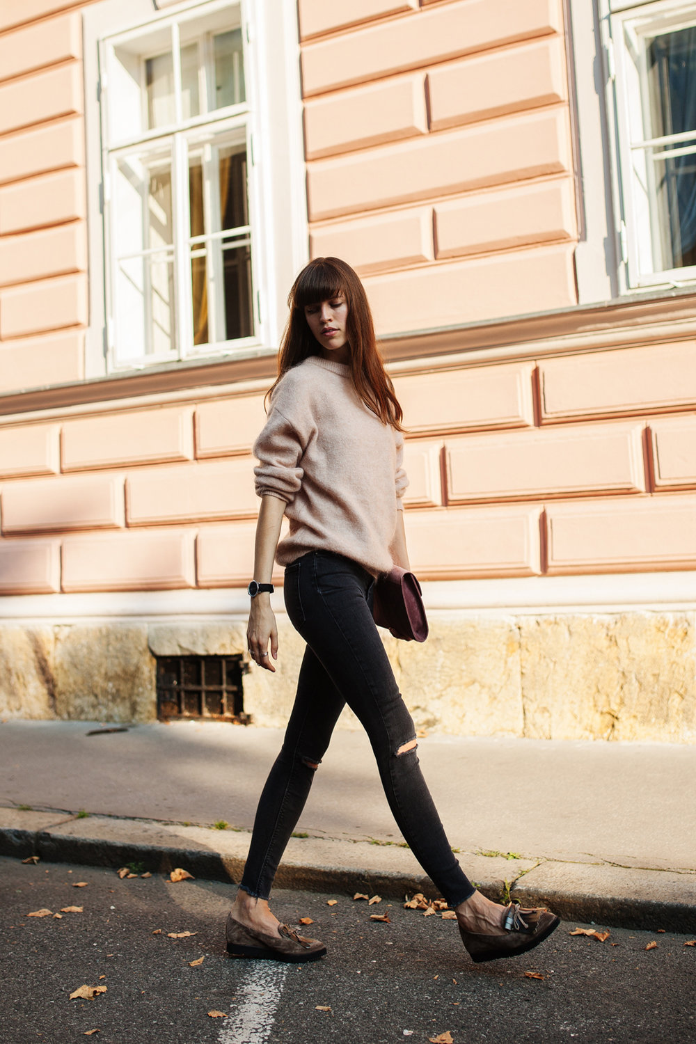 acne knits pullover