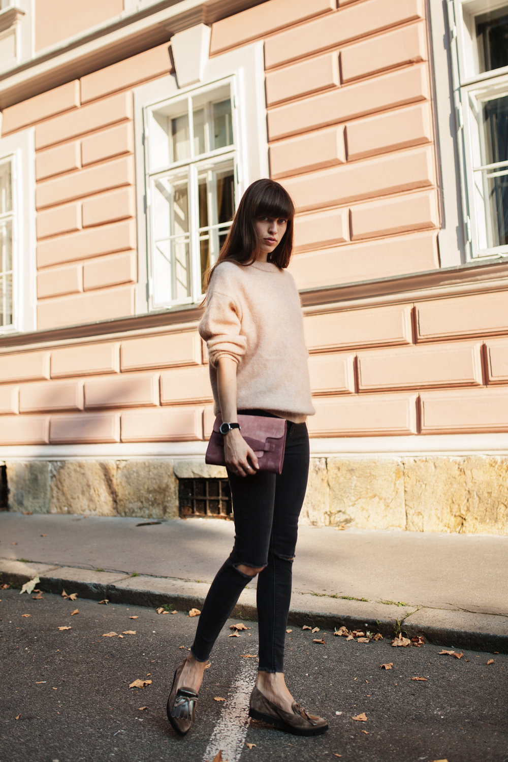 acne knit pullover