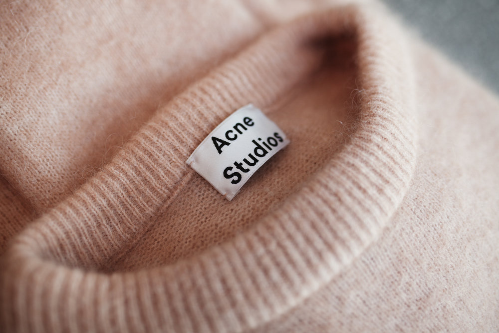 acne pullover knitwear