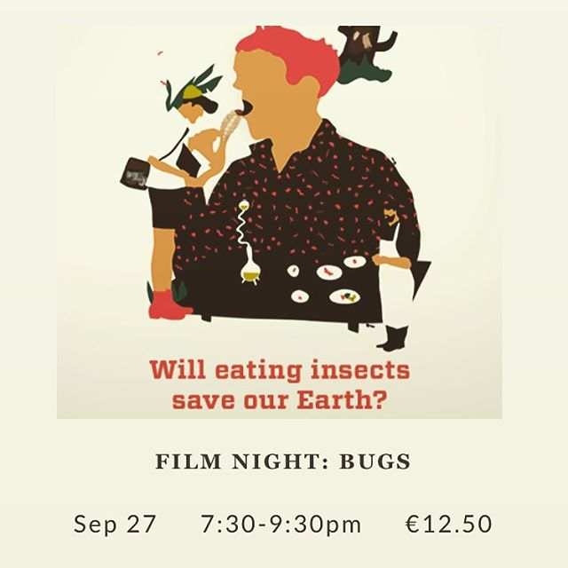 Hey Dublin! Get to The #Fumbally tonight (Wednesday) for dinner & the first Irish screening of #BUGS film @nordicfoodlab 🐜 . . #food #sustainability #innovation #cooking #restaurant #research #film #edibleinsects #entomophagy #eatbugs #foodoftoday #foodofthefuture #tasty #healthy