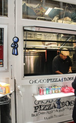 Pizza Boss Food Truck (Chicago)