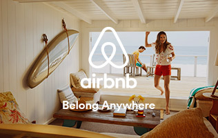 New to Airbnb? Sign-up now and receive a $35 travel credit!