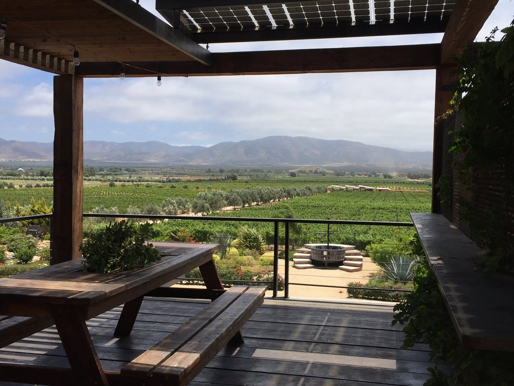The view from the patio at Finca La Carrodilla
