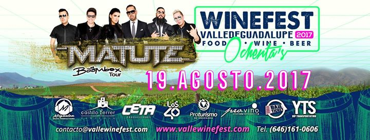 Wine Fest 2017 Poster. Photo credit Evensi