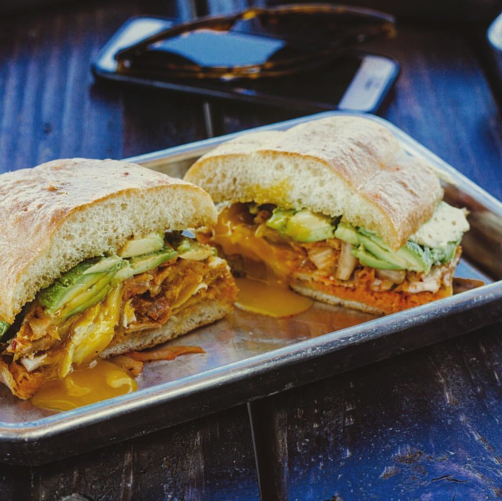 Torta from Baja Lupe Food Truck. Photo credit: LUPE