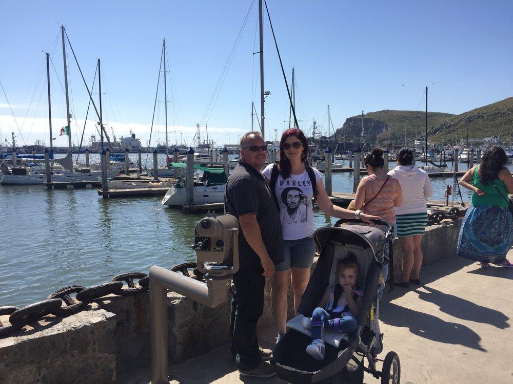 Our guests enjoying their Ensenada tour.