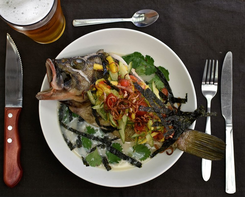 Delicious fresh catch. Photo credit: Mantou Gastropub
