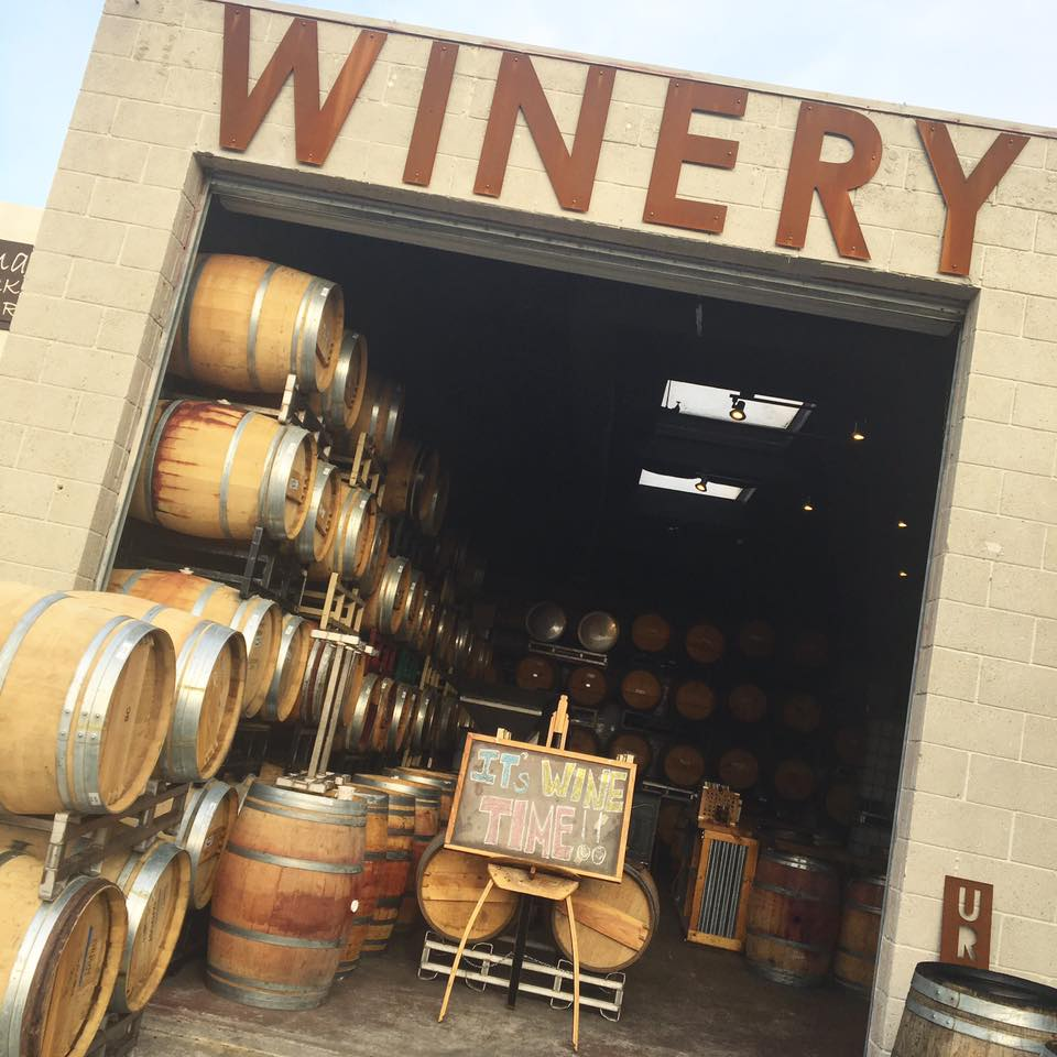 Winery at Carruth Cellars Solana Beach. Photo credit:  Carruth Cellars Winery Solana Beach