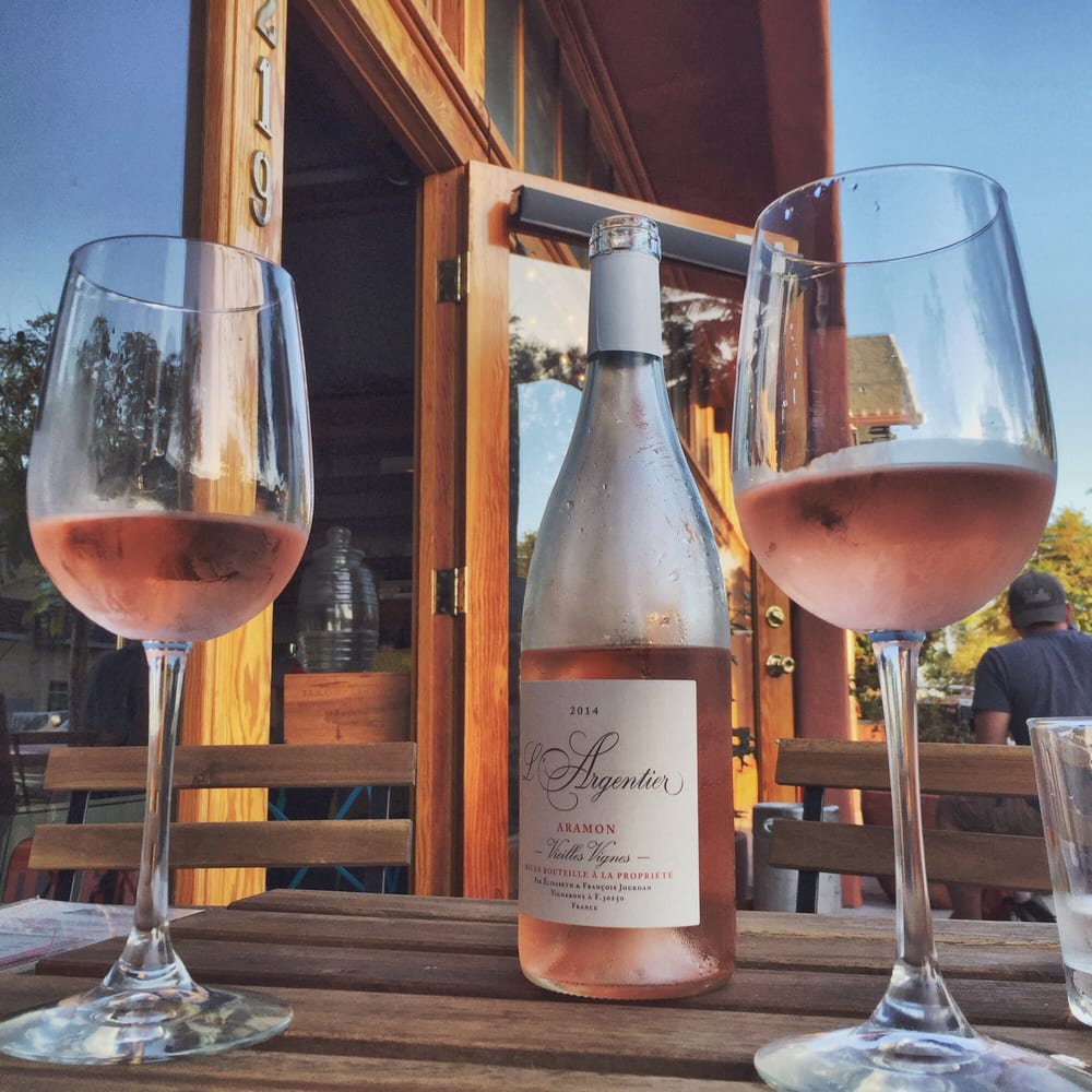 Classic rose wine. Photo credit:  Yelp