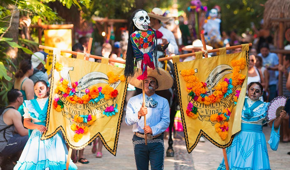 Photo credit:  Festival of Life and Death Traditions - Xcaret