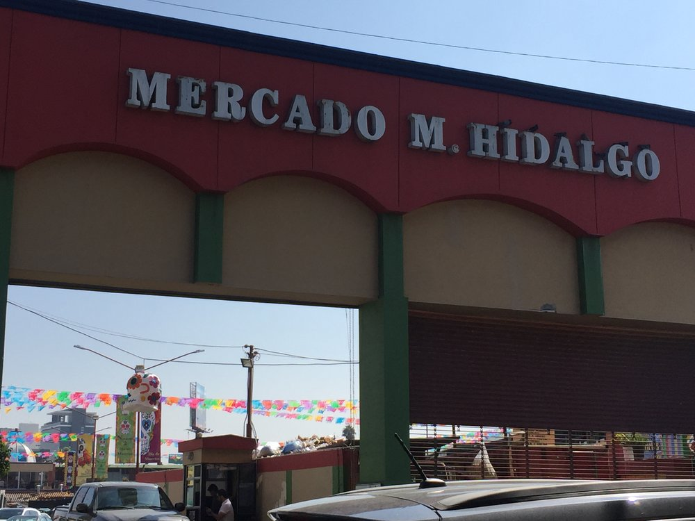 Mercado Hidalgo in downtown Tijuana