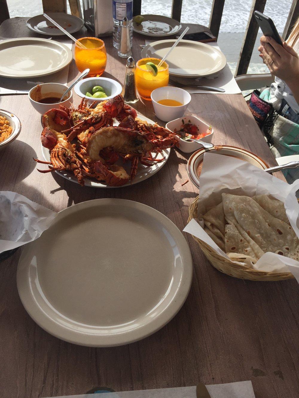 Puerto Nuevo Styled Lobster