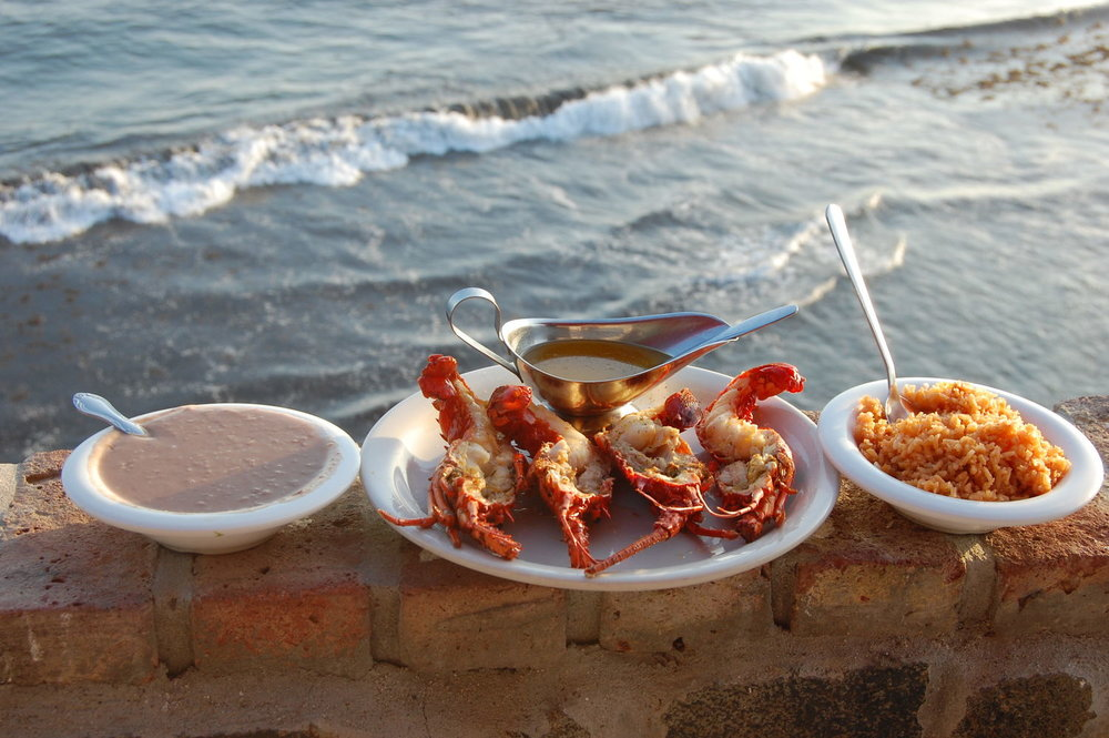 You can enjoy lobster by the sea on our  Puerto Nuevo Lobster Run
