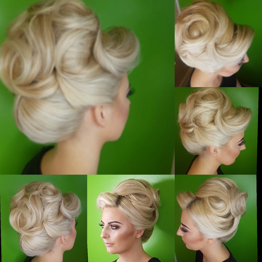 Ashley Nimmo (Allure Hair & Beauty) Entry - Judged Best in Class for Wedding Hairdresser 2017