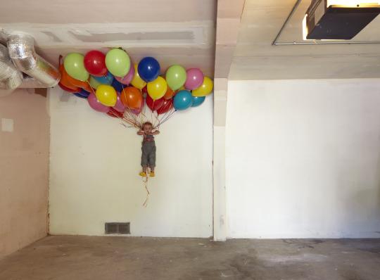"Balloons,2014 c-print 34"" x 46"""